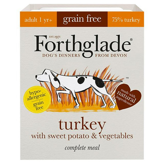 Forthglade Turkey with sweet potato & vegetables