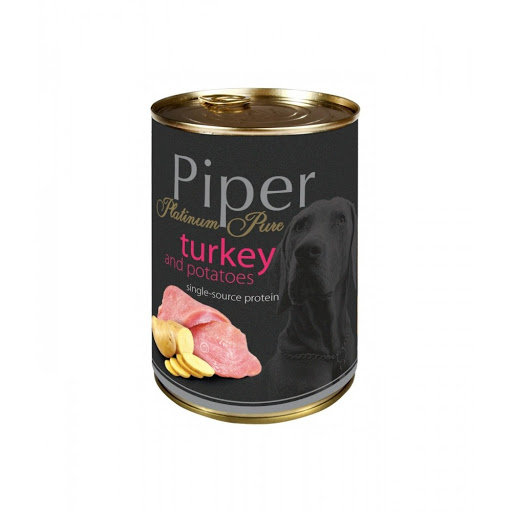 Piper Platinum Pure Turkey with Potatoes Can (400g)