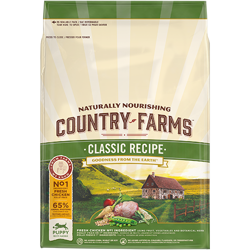 Country Farms Puppy Classic Recipe with Chicken