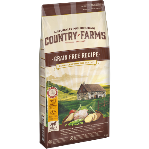 Country Farms Adult Grain Free Recipe Chicken