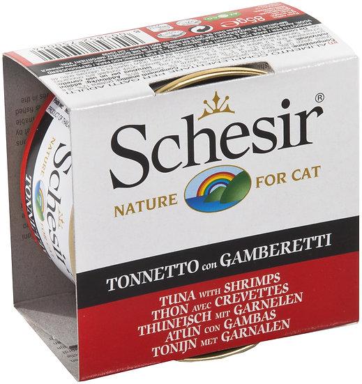 Schesir Tuna with Shrimps (Cat)
