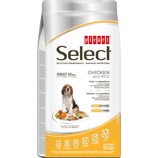 Picart Select ADULT LIGHT-STERILISED Chicken and Rice