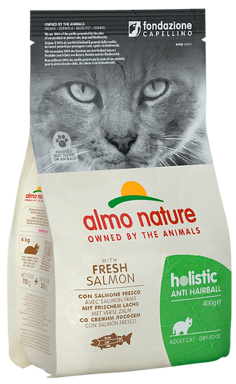 Almo Nature Holistic Anti Hairball With Fresh Salmon