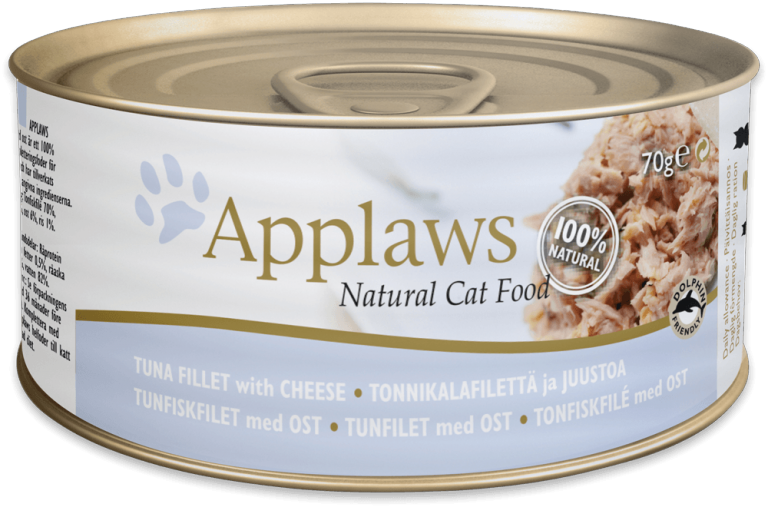 Applaws Tuna Fillet with Cheese Tin