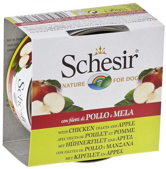 Schesir Chicken Fillets with Apple (Dog)(150g)