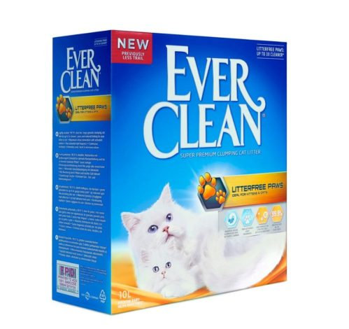 Ever Clean Cat Litter LitterFree Paws 10 L