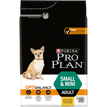 PRO PLAN® Small & Mini Adult with OPTIBALANCE™ Rich in chicken