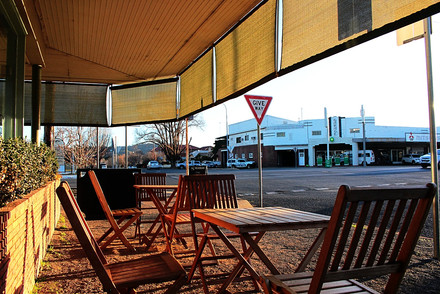 Grab a cuppa and sit back and chill in the warm afternoon sun