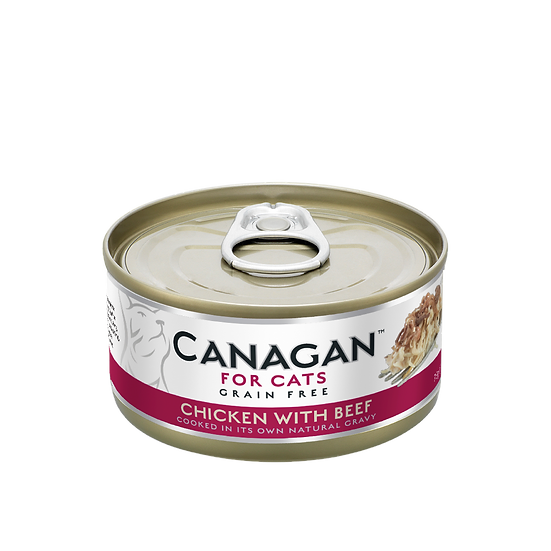 Canagan Chicken with Beef Tin