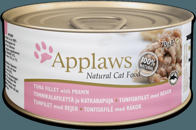 Applaws Tuna Fillet with Prawn Tin