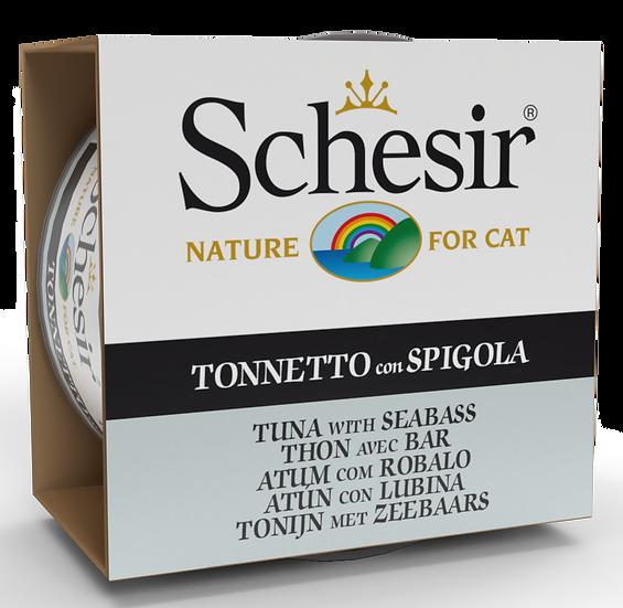 Schesir Tuna with Seabass (Cat)