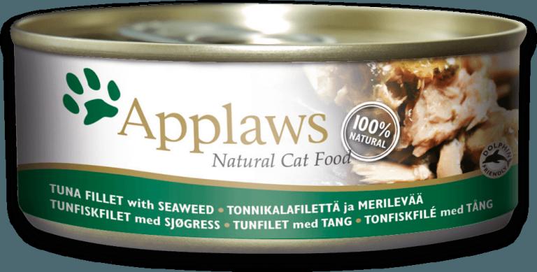 Applaws Tuna Fillet with Seaweed Tin