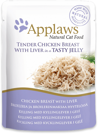 Applaws Chicken with Liver in Jelly Pouch