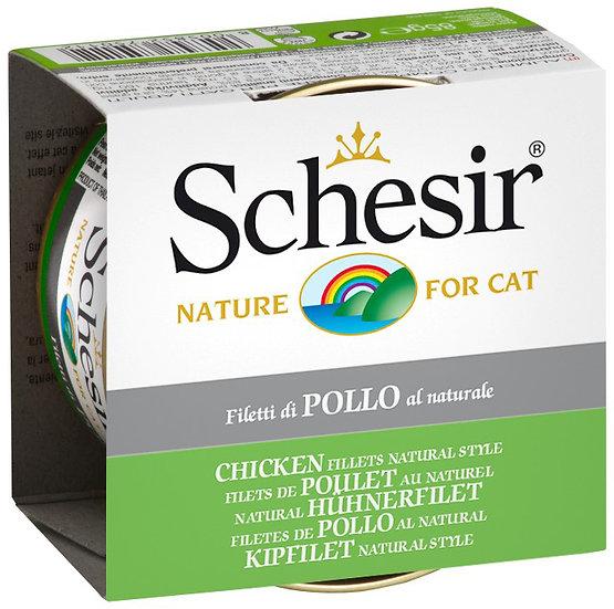 Schesir Chicken Fillets Natural Style (Cat)