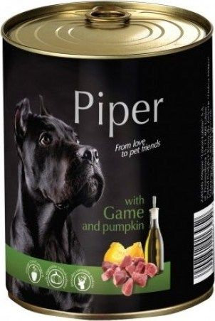 Piper Game with Pumpkin Can (400g)