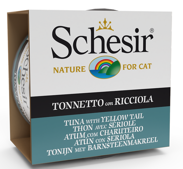 Schesir Tuna with Yellow Tail (Cat)