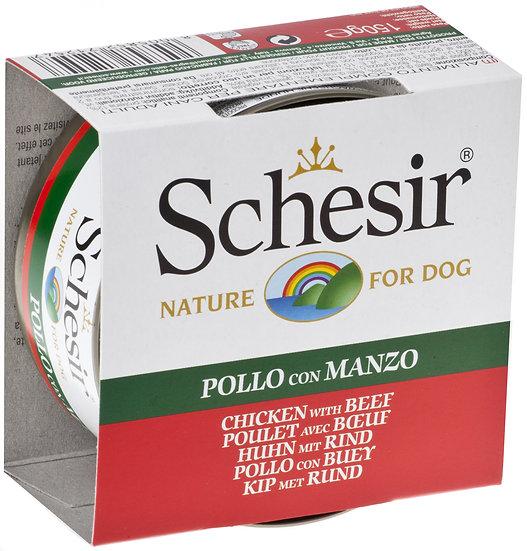 Schesir Chicken with Beef (Dog)(150g)