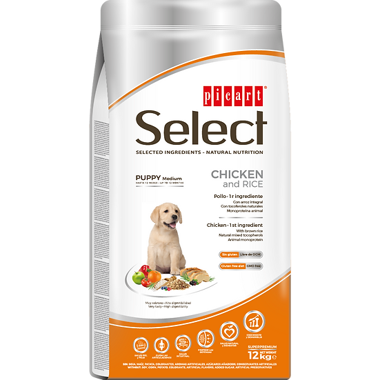 Picart Select PUPPY MEDIUM Chicken and Rice