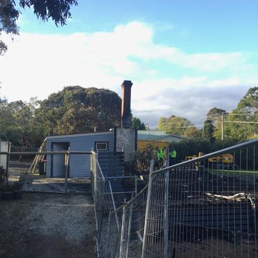 Demolition works - 15 May