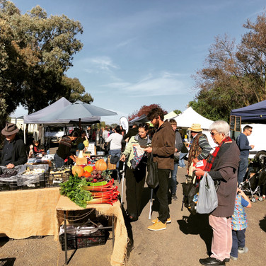 Farmers' market moved to Railway Pl