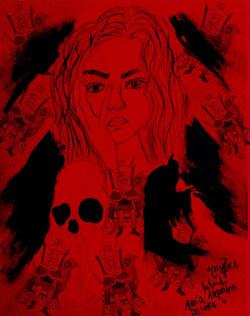 La máscara de la muerte roja de Edgar Allan Poe