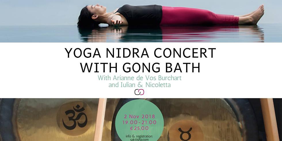 Yoga nidra and gong bath