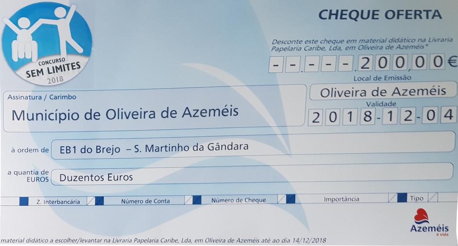 EB Brejo de S. Martinho da Gândara vence Concurso «Sem Limites»
