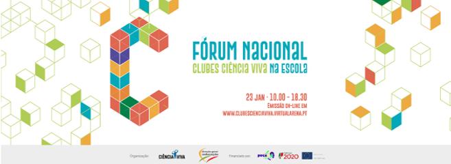 1º Fórum Nacional Clubes Ciência Viva na Escola - (Ano III - 2º P. 2020-2021)