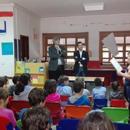 Visita do Presidente da CM OAZ à Escola de Palmaz (2ª Ed. - junho de 2019)