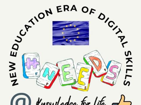Concurso de Logotipo - Erasmus + N.E.E.D.S - (Ano III - 2º P. 2020-2021)