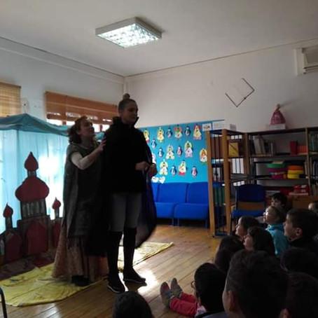 Inácia Cruz na Escola Básica de Palmaz (2ª Ed. -junho de 2019)