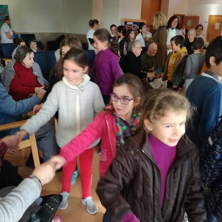 Uma visita ao Centro Social Paroquial de Pinheiro da Bemposta