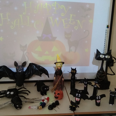 O Halloween no 1º Ciclo - (Ano III - 1º P. 2020-2021)