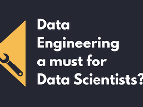 Is Data Engineering a must for Data Scientists?