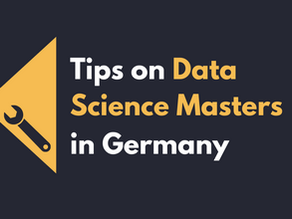 Tips on Data Science Masters in Germany