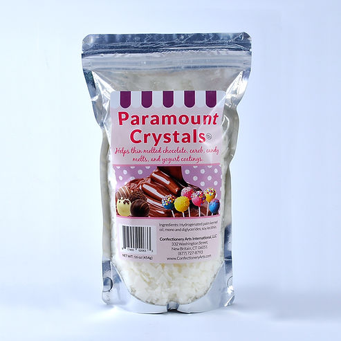 paramount crystals shortening melting candy chocolate smooth 1 pound pouch
