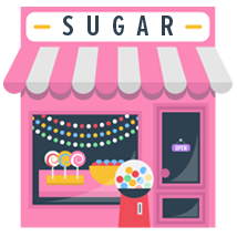 Sugar Shop Illustration