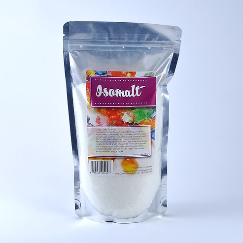 isomalt sugar melt crystal substitute art pouch 1 pound