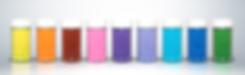 colored sanding sugar rainbow