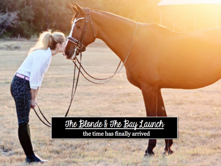 The Blonde & The Bay is Live!