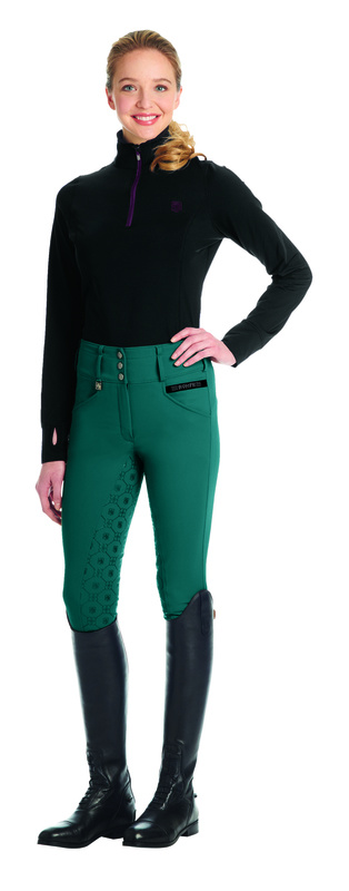 Romfh Isabella Full Grip Breeches - Sea Green