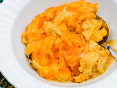 My Cauliflower Mac 'N Cheese