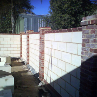 brickwork fence