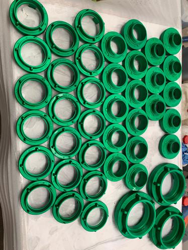 uniq anodising green anodising