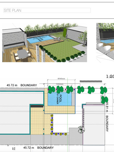 Landscape and Pool Design Uniq Spaces
