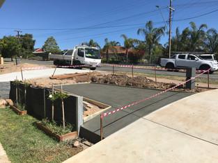 concrete driveway adelaide uniq spaces