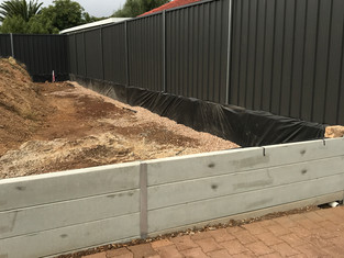 fencing and retaining walls