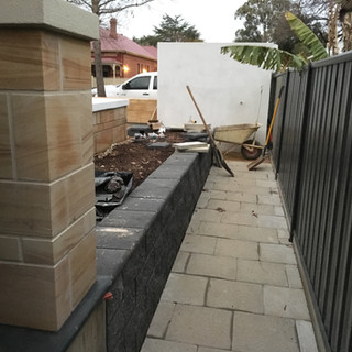 retaining wall builder and fencing