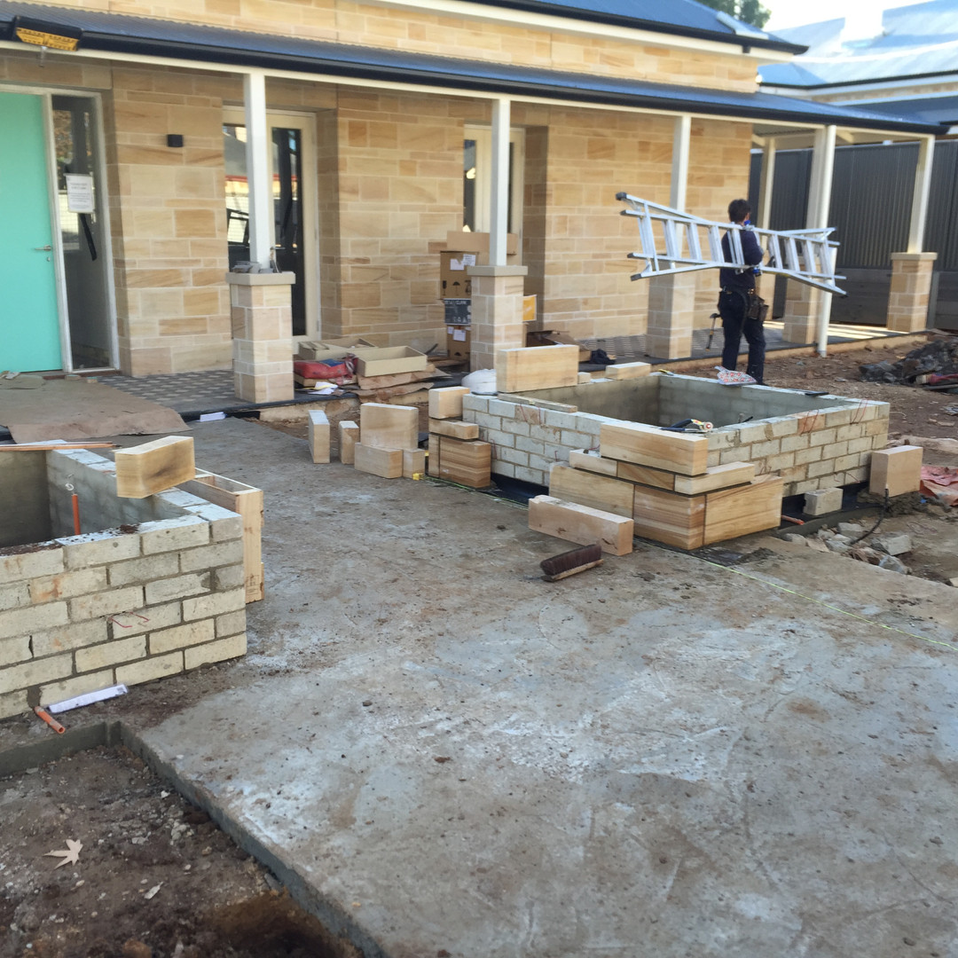 brickwork AND LANDSCAPING uniq spaces