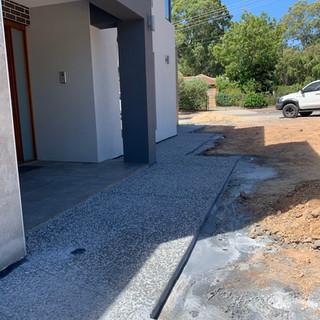 exposed aggregate concrete adelaide uniq